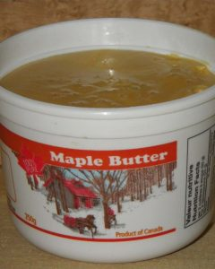 Maple Butter 250g