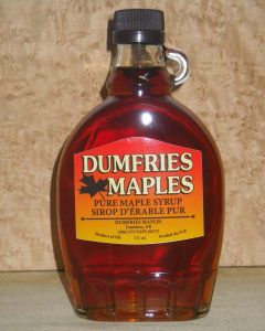 Maple Syrup 375ml Glass