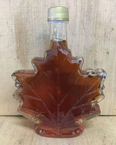 Maple Syrup in Maple Leaf Shaped Bottle